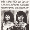 The Young Sisters - Muziek Parade okt. 1965