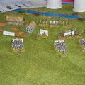 Telnitz e le espertissime truppe di Davout; questi deve tenere il fronte sud, senza impegnarsi troppo.