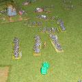 ... ma Napoleone corre ai ripari e preleva dalla Riserva di Cavalleria di Murat, i corazzieri e i carabinieri.