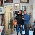 La premiazione del giocatore dell'anno (Eroe 2011): Silvio Scotti riceve il simbolo del club e, anche un panettone!