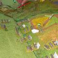 le truppe di Prebyshevsky scendono dal Pratzen ...