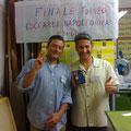 Il Valoroso e Divisionale 2008 Stefano Plescia insieme con il Maresciallo 2008 Franco Iacca