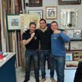 """La squadra vincitrice della campagna 2011 (Polonia 1807). Hanno conquistato il titolo di """"Veterani"""" 2011: Franco Iacca, Gabriele Tabacchini e Stefano Plescia"""