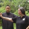 2012 mit Chen Ziqiang nach einer Einzelstunde Xinjia Erlu...