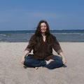 Meditation am Meer, Warnemünde 2014