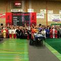 Teilnehmer der int. Dutch Wushu Championships