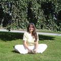 ein schöner Tag für ein bisschen Yoga