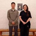 mit Chen Bing bei unserem Berlin-Seminar