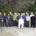 Gruppenfoto mit Chen Bing Seminar Berlin 2012 vom Sonntag