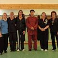 Mit Meister Wang Haijun in Hegenheim