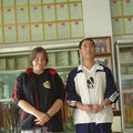 mit meinem früheren Meister Wang (Shi De Wei) in Dengfeng/Shaolin