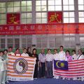 Gruppenfoto mit GM Kang Gewu 2011 Jiaozuo