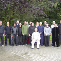 Chen Bing 2012 bei uns in Berlin- das erste Seminar unserer Schule und sein erstes in D