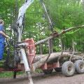 Immer wieder Holzarbeiten