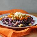 Kürbis-Rotkraut-Salat