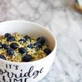 Heidelbeeren-Porridge