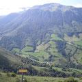 Vue sur la vallée de Loudios