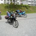 kurze Pause im Thüringer Wald