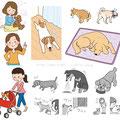 愛犬の介護ガイドBOOK(学校法人文化学園 文化出版局)