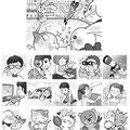 『スケルトンYOU 2月号』 アロー・間違い探し問題/株式会社英和出版社