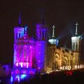 Fête des Lumières 2011 - Notre-Dame de Fourvière - C. Debat 2011