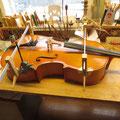 Liming av kant på cello