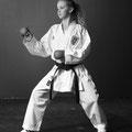 Francine Waber Wettkampf Kumite