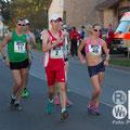 Zusammen mit Dominic King und Anett Torma (Foto: RaceWalk Pictures - Philipp Pohle)