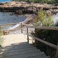 """Cala """"Puerto Azul"""", junto a la urbanización, Ada Edison Apartamento. www.adapeniscola-apartamentos.com"""