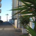 Playa a 50 m / Vista desde la salida a la calle Ada Neptuno Playa  Apartamento 6ª planta. A 50 metros de primera línea de playa. adapeniscola-apartamentos.com