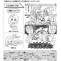 「退屈に効くクスリ」フライヤー裏面四コマ漫画