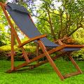 sdaio +legno +reclinabile +braccioli +antracite