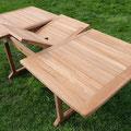 teak #tavolo #legno #estensibile #giardino #qualità #210cm