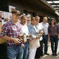 Die Gründungsmitglieder des RV Rehborn (+ Vorsitzender Helmut Wückert)