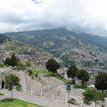 Quito vom Aussichtspunkt Panecillo