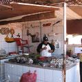 Auf dem Fischmarkt.