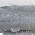'Strand / 海辺' #4, Sumi(Japanse inkt) op papier, 10x30cm/ 2013  /verkocht