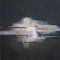 """""""Nocturne"""" #3, 2012 / acrylverf en pigment op linen doek / 45x45cm / verkocht"""