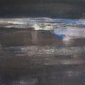 """""""Nocturne"""" #1, 2012 / acrylverf en pigment op linen doek / 45x45cm / verkocht"""