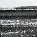 'Strand / 海辺' #3, Sumi(Japanse inkt) op papier, 10x30cm/ 2013 /verkocht