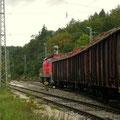 .......Signal signalisiert Hp2, Abfahrt Richtung Ingolstadt