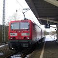 ....Vorbereitungen zur Abfahrt in Richtung Ingolstadt am Gl.4....