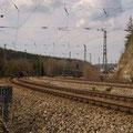 Bahnhofseinfahrt aus Ingolstadt kommend (Bild Rico Schubert)