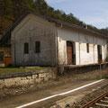 Güterschuppen- Gleisseite