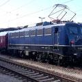 und eine E-Lok der BR110 ehem. E10