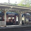 am Eichstätter Bahnhof, kurz vor der Rückfahrt nach Treuchtlingen