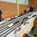 """Rangiergleise der Bahnhofes """"Eichstätt Bahnhof"""""""
