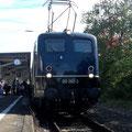 Ankunft und Aufenthalt in Eichstätt Bahnhof