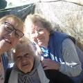 Katrin trifft Heidi und Anastasia in Kalithea