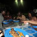 Soirée au village des pêcheurs de Limbé
